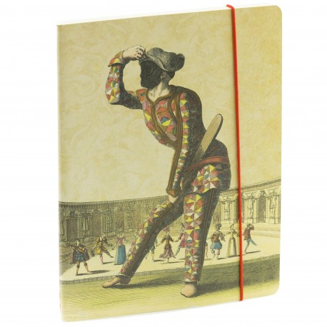 Cahier  Arlequin