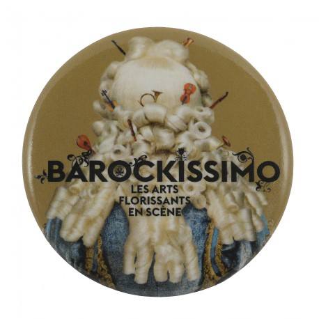 "Badge aimanté ""Barockissimo!"""