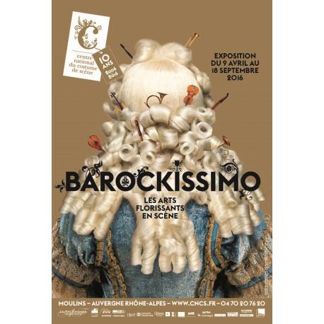 """Affiche """" Barockissimo! Les Arts Florissants en scène"""""""