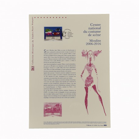 Document philatélique - CNCS 10 ans