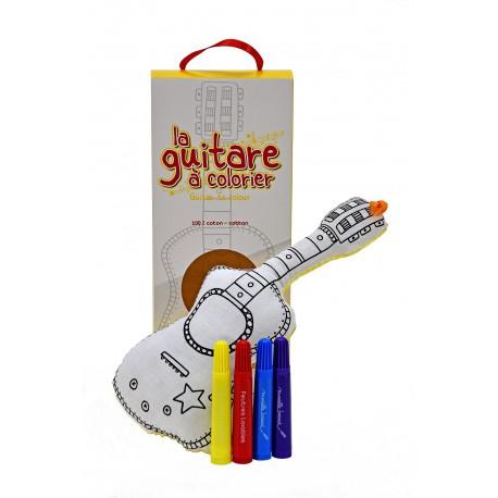 Guitare à colorier