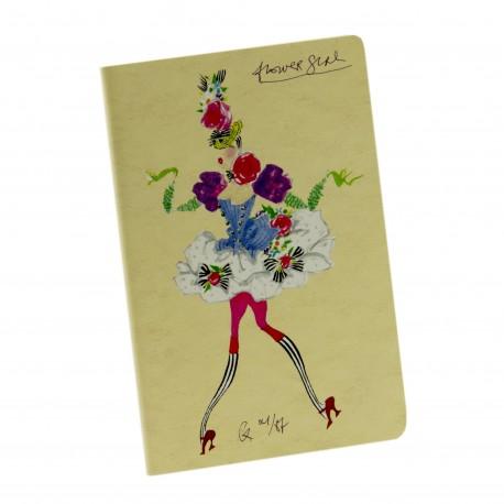 Carnet Flower Girl « La Gaité Parisienne » d'après Christian Lacroix