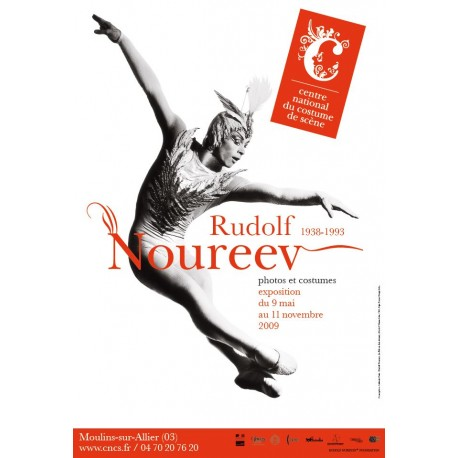 "Affiche ""Rudolf Noureev, la trame d'une vie"""