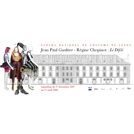 Guide de l'exposition « Jean-Paul Gaultier- Régine Chopinot : Le défilé »