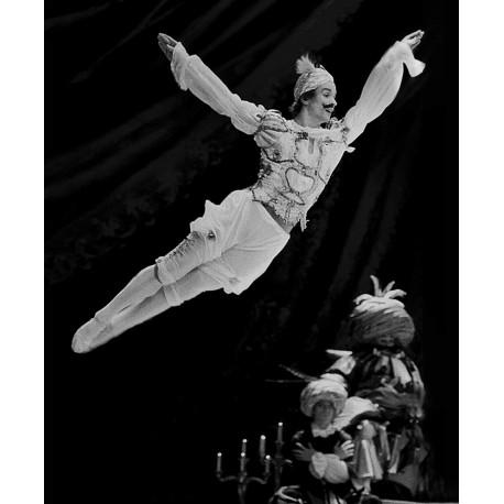 Lot 4 cartes double « Rudolf Noureev en scène »