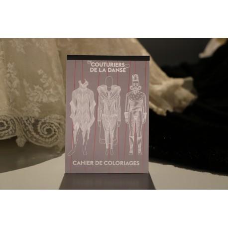 Cahier de coloriages Couturiers de la danse