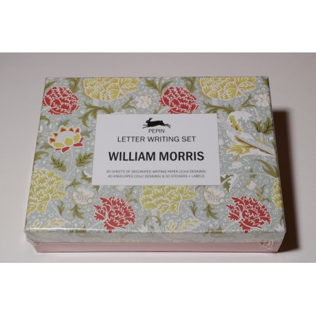 Coffret set correspondance William Morris