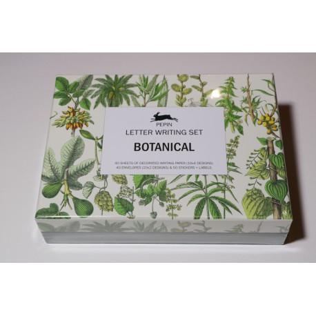 Coffret set correspondance Botanique
