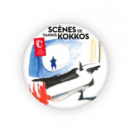 """Badge aimanté """"Scènes de Yannis Kokkos"""""""